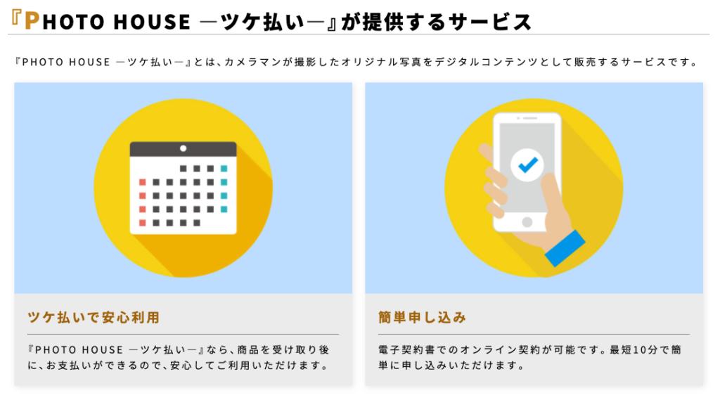 PHOTO HOUSE(フォトハウス)の後払い現金化の仕組みについて